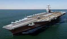 Years in the making, the USS Gerald R. Ford is the first of its class, an all-new carrier designed to be far more efficient and more technologically advanced. via @CNET