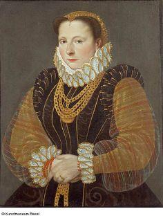 Hans Bock the Elder.Portrait of Eva Steward of Rheinfelden, 1580. Won't let me save the link: http://194.176.109.156/eMuseumPlus?service=direct/1/ResultDetailView/result.inline.list.t1.collection_list.$TspTitleLink.link&sp=13&sp=Sartist&sp=SelementList&sp=0&sp=0&sp=999&sp=SdetailView&sp=0&sp=Sdetail&sp=0&sp=T&sp=0&sp=SdetailList&sp=0&sp=F&sp=Scollection&sp=l1065