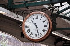 Lovely antique clocks on the London Underground