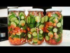 YOK BÖYLE TURŞU BUGÜN YAP YARIN YE😲 HAMİLELER VE TURŞU KOLİKLER İÇİN HAYAT KURTARICI YAZ TURŞUSU👌 - YouTube Turkish Kitchen, Pickles, Feel Good, Cucumber, Zucchini, Pasta, Food And Drink, Make It Yourself, Vegetables