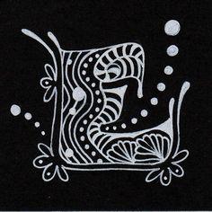 177 Best Zentangle Letters Images Zentangle Patterns Zen Tangles