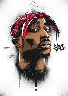 2pac vector stencil Tupac Shakur This looks so cool (〜 ̄▽ ̄)〜 d(-_^)