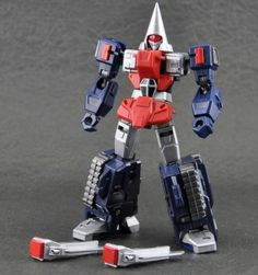 Machine Robo - MR-02 - Rod Drillby Action Toys #transformer