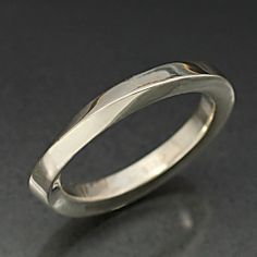 INFINITY RING  In Sterling Silver by BandScapes on Etsy