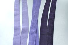 5/8 FOE  Lilac Dark Lavender and Purple Fold by CreationsbyLSM, $8.58