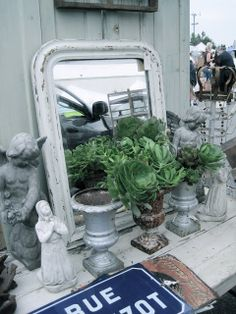 greige: interior design ideas and inspiration for the transitional home : Flea Market Sundays..