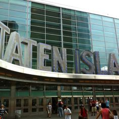 Not one person has come up with a good excuse to go to Staten Island. Come on people! Be creative!