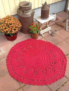 Joulutähti Carpet, Kids Rugs, Crochet, Christmas, Summer, Home Decor, Oval Rugs, Round Shag Rug, Xmas