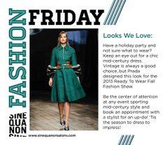 Check out the Sine Qua Non Blog to see fashion we love! #SQNChicago #iamsine