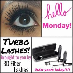 Happy Monday!!!! Order your 3D Fiber Lash Mascara!!!! www.youniqueproducts.com/Ericabrostrom