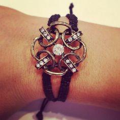 Macrame bracelet by AroundMyWrist on Etsy, 18.95