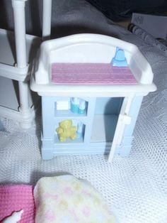 MATTEL  NURSERY ROOM STUFF   BOTTLES  BLANKET #Mattel