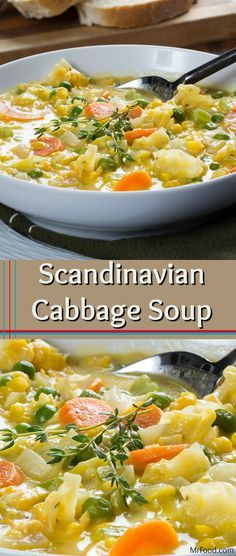 This cheesy version of cabbage soup is inspired by an Old World recipe. Scandinavian Cabbage Soup is chock-full of veggies and creamy richness, making it a hearty and flavorful main dish, and it only takes 30 minutes from start to finish!