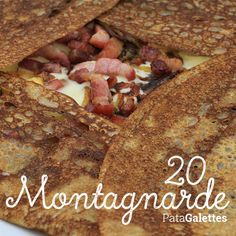 20 - Montagnarde Reblochon - raclette - confit d'oignons - lardons