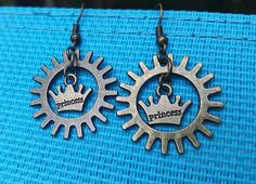 Check out this item in my Etsy shop https://www.etsy.com/listing/540538168/steampunk-princess-earrings