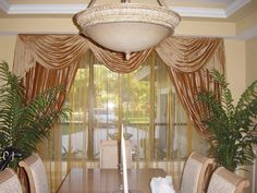 Draperies can make a statement!