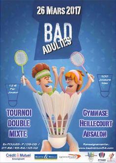 Illustration Tournoi double mixte de badminton Badminton, Legend Games, Ardennes, Conception, Luxury Cars, Mercedes Benz, Legends, Illustration, Sports
