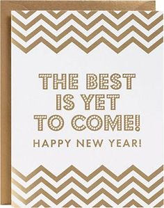 best is yet to come chevron new year cards set of 10 1795 at papersource