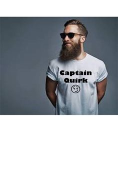 Funny T-shirt mens tee Captain quirk special needs dad #etsy #etsyhop #etsylove #etsyfinds #captain #quirk #specialneeds #aspergers #aspie #autism #fashion #mensfashion