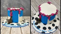 Mykonos Cake House Cake, Cake Youtube, Mykonos, The Creator, Birthday Cake, Desserts, Tutorials, Decorations, Cakes