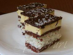Prajitura cu nuca de cocos | Pleziruri Romanian Desserts, Romanian Food, Romanian Recipes, Food Cakes, Holiday Baking, Coco, Cake Recipes, Sweet Treats, Cheesecake