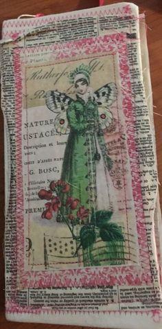 Handmade junk journal, smash altered book, mixed media, vintage ephemera   eBay