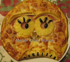 Pizzas infantiles Pizzas for kids