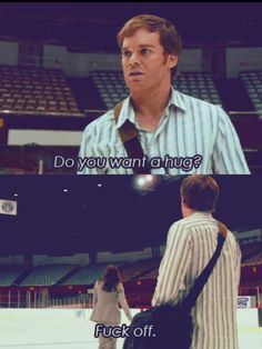 Dexter discovered by melody on We Heart It Dexter Morgan Quotes, Dexter Memes, Dexter Debra, Dexter Seasons, Michael C Hall, Feeling Nothing, Geek Games, I Have A Crush, Angel Of Death