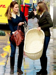 catherine with her mother, carole middleton ♥