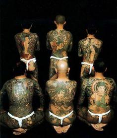 19-Tatuagens Como símbolo de lealdade utilizadas nos dias atuais pela Máfia Japonesa - A Yakuza