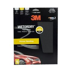 """3M 32036 Imperial Wetordry 9"""" x 11"""" P600 Grit Sheet, (Pack of 5) by 3M. Save 4 Off!. $7.16. Used in wet sanding. Use for scuffing the blend area prior to painting. Most flexible backing with more consistent scratch pattern make this 3M`s best wet sanding product."""