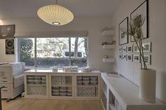 White Home Office www.studiofunctio... #arquitetura #architecture #design #home #house #interiordesign #modern