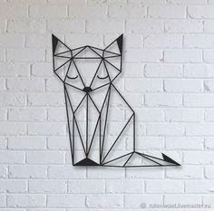 46 Best Geometric Animals images in 2019 Geometric Drawing, Geometric Lines, Print 3d, Monochromatic Art, Minimal Drawings, Principles Of Art, Stencil Art, Design Crafts, Metal Wall Art