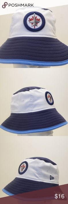 4eb4e890a13c8 Men s New Era NHL Winnipeg Jet Bucket Hat NEW!! Men s New Era Winnipeg Jet