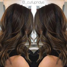 Subtle balayage #brunette                                                                                                                                                                                 More
