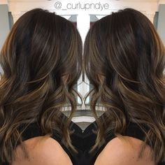 Subtle balayage #brunette                                                                                                                                                                                 More