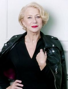 Leave it to Helen Mirren to prove that age is just a number. via @byrdiebeauty loreal