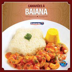 Seu dia pede Camarão a Baiana da Camarão & Cia! Traga sua família para o almoço de domingo!