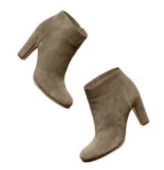 I have 2 pairs of booties already in this amaaaazingly versatile color--but they're both flat, so obviously I need these too! They'll be my number-one go-to, all season long.