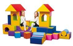 Hiper bloques de construcción, psicomotricidad, mobiliario