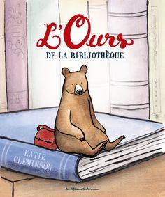 L'ours de la bibliothèque - K.Cleminson - Les lectures de Liyah,des 3ans