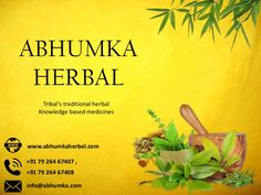 Welcome to abhumka best herbal medicine online. Best recommended and 100% pure and genuine ayurvedic medicine with no side effects.