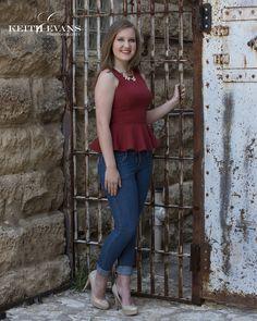 Mary Kate - Plano West Senior High School - Class of 2016 - Senior Portraits - Senior Photography Downtown McKinney - Senior Picture Ideas for girls - #seniorpicks