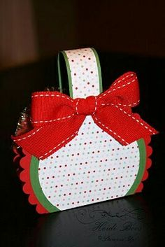 """On December I held an event called """"Candy Cane Christmas"""". It was my first time since joining Stampin' Up! holding a Christmas themed . Halloween Crafts, Holiday Crafts, Fall Halloween, Candy Crafts, Paper Crafts, Ladies Kitty Party Games, Stampin Up Anleitung, Boxes And Bows, Craft Box"""