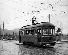 Tramway in Hiroshima, Japan (09.1945)