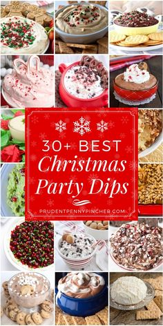 30 Best Christmas Party Dips #Christmas #ChristmasParty #ChristmasAppetizer #Appetizer #ChristmasDesserts #ChristmasRecipes