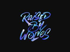 Raised By Wolves | Fonts Inspirations | The Design Inspiration