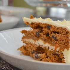 Forty Cakes – Paleo Carrot Cake with Honey Frosting