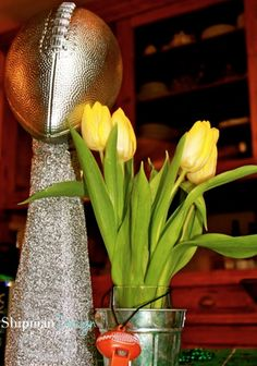 Make a Lombardi Trophy for decor
