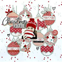 Hey everyone, I'm here today with a new layout to share for Pretty Little Studio using the Glitter & Ice collection and a cut file from The . Scrapbook Layout Sketches, Scrapbook Templates, Scrapbooking Layouts, Christmas Scrapbook Layouts, Scrapbook Paper Crafts, Christmas Layout, Baby Scrapbook, Scrapbook Cards, Layout Inspiration